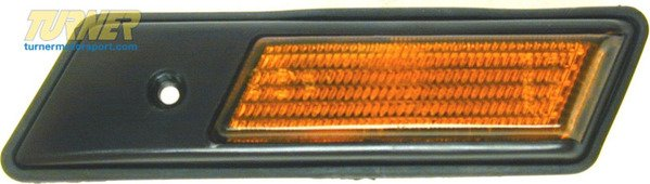 T#10887 - 63138357048 - Front Right Sidemarker Light - Amber - E36 3 series - Genuine BMW - BMW