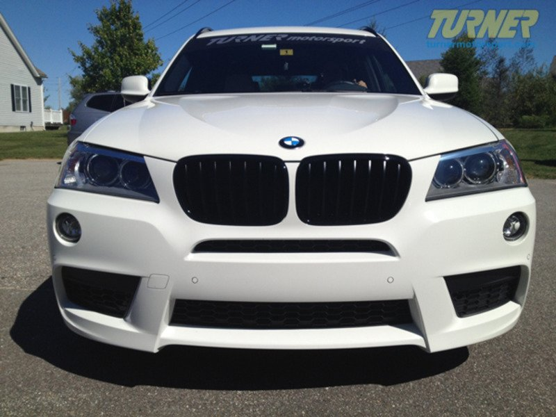 F25 Black Grills Genuine Bmw Black Center Grills F25