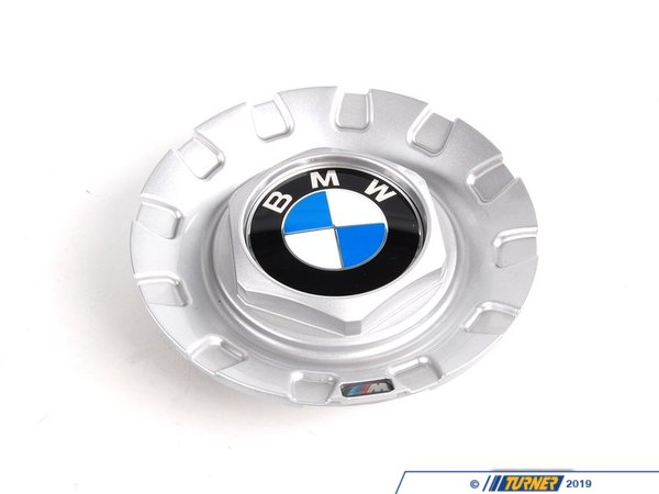 T#67409 - 36136757372 - BMW Style 101 Wheel Center Cap with Emblems (Roundel + ///M) - Genuine BMW -