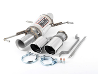 E92/E93 335i Supersprint Stainless Right Racing Muffler (2x 80mm Tips)