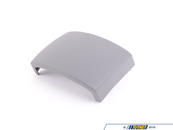 T#83363 - 51167066006 - Genuine BMW Cover Centre Console, Rear Flanellgrau - 51167066006 - E65 - Genuine BMW -