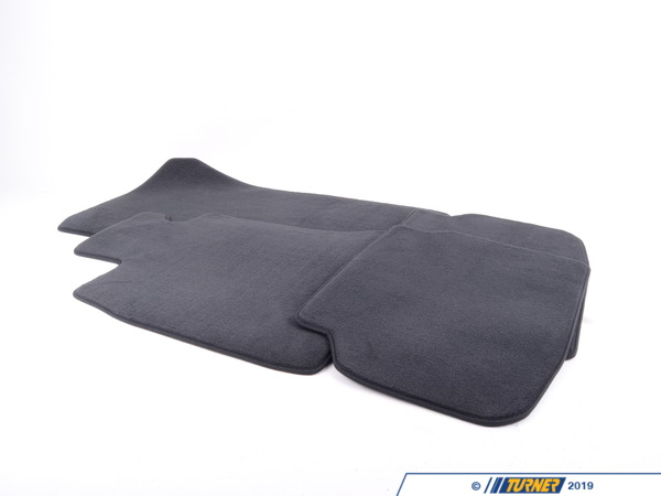 T#24132 - 51479124732 - Genuine BMW Set Of Floor Mats Velours Anthrazit - 51479124732 - F01 - Genuine BMW -