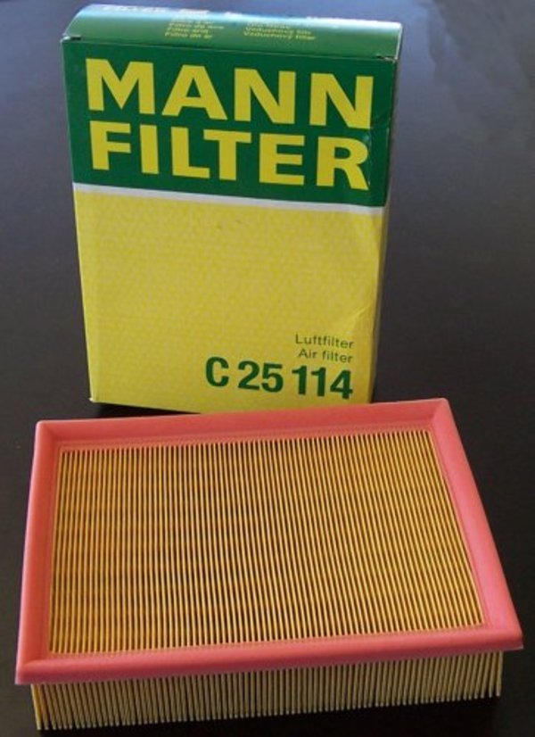 T#301 - 13721736675 - OEM Air Filter - E34 E31 E32 E38 E39 X5 Z8 - Mann - BMW