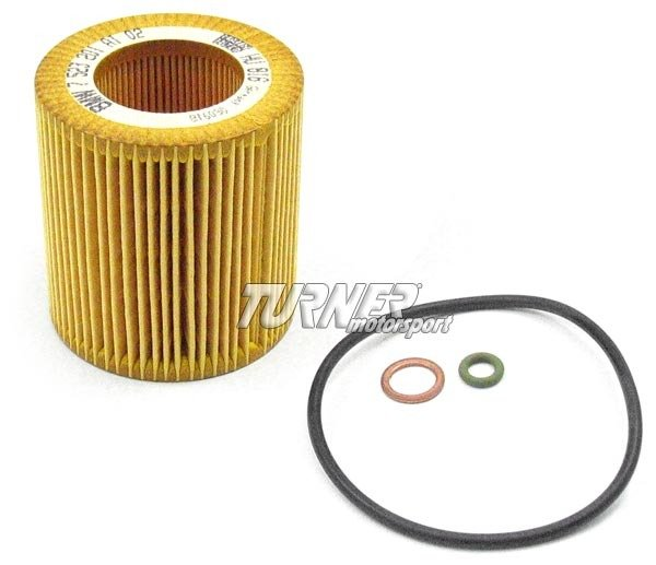 T#4162 - 11427566327 - OEM Mahle/Mann Oil Filter - Most 2006+ 6 cylinder, N52/N54/N55/S55 - Mann - BMW