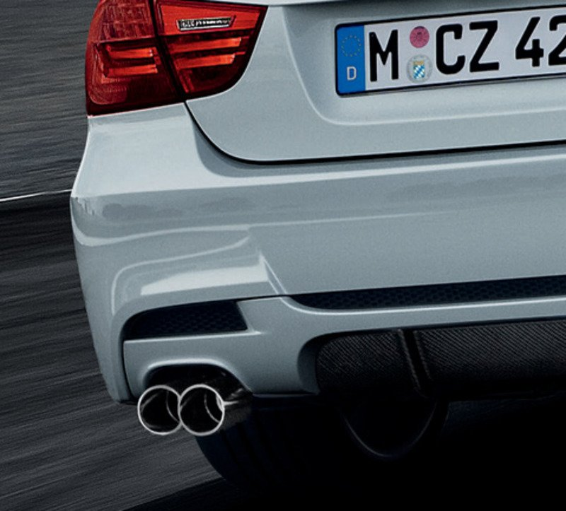 Genuine BMW M Performance Exhaust System For E - 2008 bmw 335i aftermarket parts
