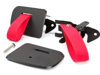 HARD Motorsport RS Style Door Pull Strap Conversion For E36 M3/Coupe -- RED