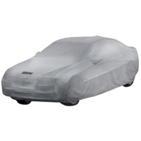 "T#5596 - 82110037331 - Genuine BMW Car Cover - F02 - 740li 750li 750li xDrive 760li -  Get a car cover that is custom fit for your BMW, not some generic one size fits all available from other suppliers.  This Genuine BMW car cover is custom fit specifically for the F02 7 series chassis. It features the BMW lettering on the front.   NOAH barrier fabric actually stops water, yet it ""breathes"" to allow any trapped moisture, seam seepage or condensation to easily evaporate.  The unique construction process (patent pending) results in a cover with maximum all-weather protectionhighly water resistant, dust resistant, UV resistant and breathable to make sure moisture and/or heat don't stay under the cover.  Made in the U.S. the fabric weighs only 4.75 oz./sq. yd., so it's easy to handle and fold.Protective Outer Layers - A bi-component spunbond, using sheath-core technology.  The inner core is polypropylene for strength, with a polyethylene wrap for softness.  A silver-gray color was selected because of its heat-resistant properties.  The fabric is also treated with UV inhibitors for extended outdoor use.Micro-Porous Middle Layer - The barrier layer is breathable film, a proprietary stretch-film technology.  The film is stretched and subjected to a chemical process that creates microscopic holes smaller than droplets of water or dust, yet large enough to allow moisture vapor to escape.Soft, Paint-Protecting Inner Layer - A bi-component fabric made with polyethylene and nylon.  This combination results in an exceptionally high strength-to-weight ratio, with the ""soft touch"" necessary for today's water-based paint finishes.This car cover fits the following BMWs:2009+ F02 BMW 740li 750li 750li xDrive 760li - long wheel base only - Genuine BMW - BMW"