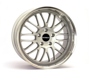 "D-Force EmPower 18x8.5"" ET15 Silver Wheel 19lbs"