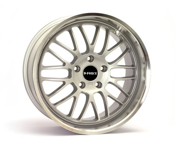 "T#184589 - TMS184589 - D-Force EmPower 18x8.5"" ET15 Silver Wheel 19lbs - D-Force Wheels - BMW"