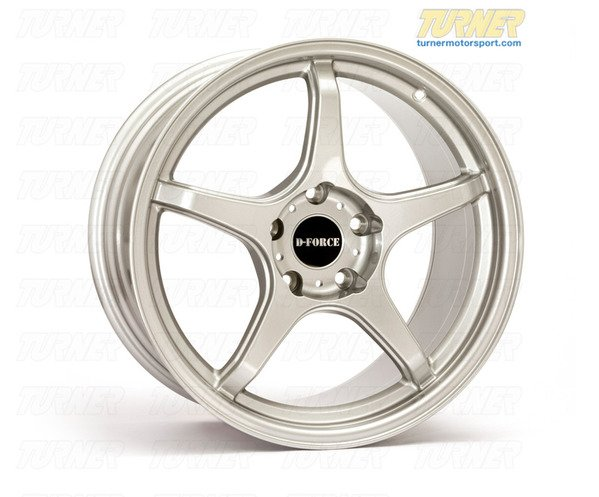 T#14398 - TMS14398 - E46 M3 D-Force LTW5 18x9.5 Square Race Wheel Set - D-Force Wheels - BMW