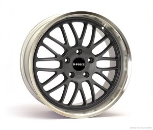 "D-Force EmPower 18x8.5"" ET15 Anthracite Wheel 19lbs"