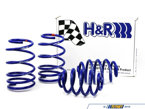 T#3692 - 29929-1 - H&R Sport Spring Set - E36 325i/328i Convertible - H&R - BMW