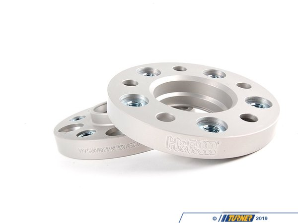 T#1600 - 4075740725 - E39 20mm H&R Wheel Adapter Set To Fit E36/E46 Wheels To E39 5-series - H&R - BMW