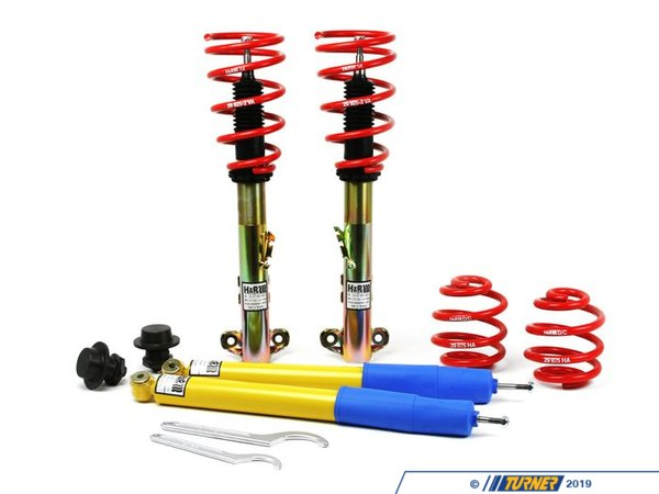 T#3614 - 29925-4 - E36 318i/325i/323i/328i Convertible H&R Coil Over Suspension - H&R - BMW