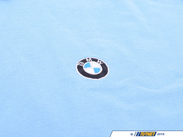 T#166588 - 80902296695 - Genuine BMW Mens Polo Blend, Cobalt - Xx - 80902296695 - Genuine BMW -