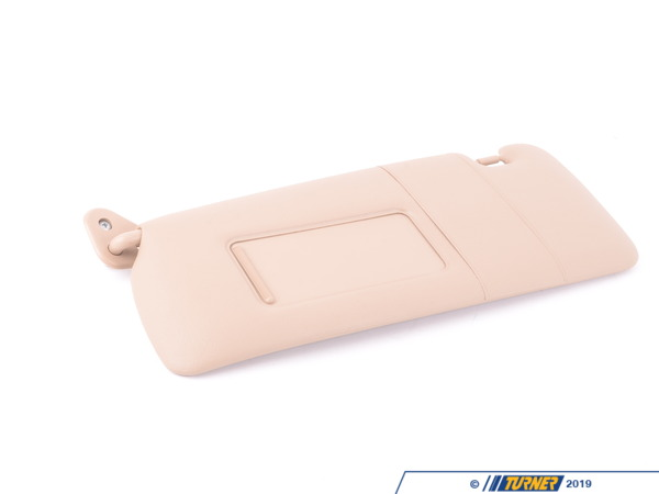 T#86503 - 51168267911 - Genuine BMW Sun Visor With Mirror-coveri - 51168267911 - Hellbeige - Genuine BMW -
