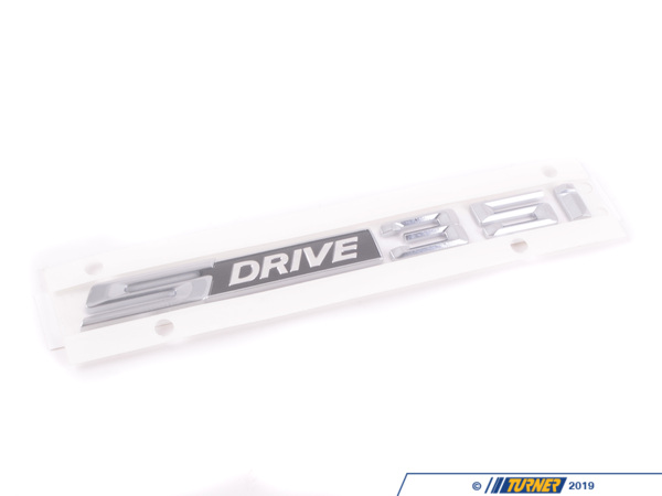 T#23658 - 51147221375 - Genuine BMW Label S Drive 35I - 51147221375 - E89 - Genuine BMW -
