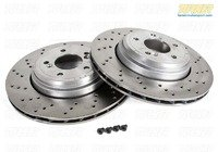 Rear Brake Rotors - E9X M3 2008-later