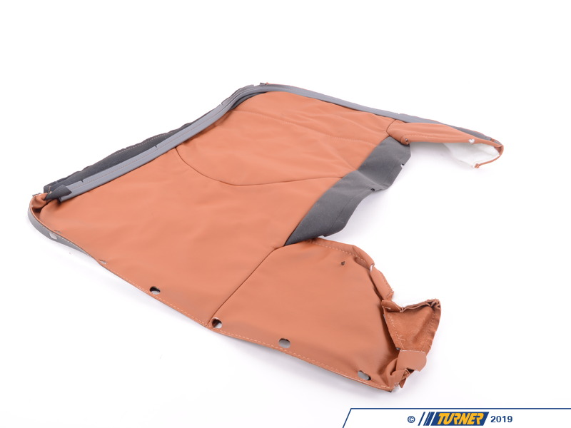 T#131154 - 52207902139 - Genuine BMW Cover Backrest Leather Left Zimt - 52207902139 - E46 M3 - Genuine BMW -