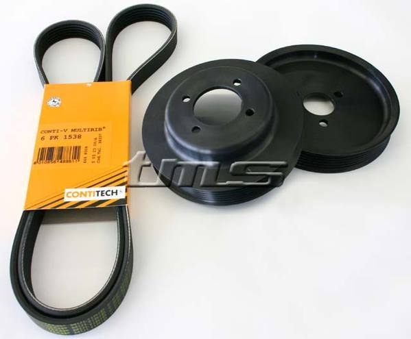 T#3465 - PPK-MZ4 - Turner Motorsport Power Pulley Upgrade Kit - Z4 M Roadster & Coupe - Turner Motorsport - BMW