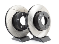 Gas-Slotted Brake Rotors (Pair) - Front - E82, E9X