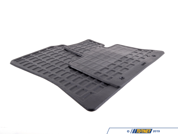 T#109862 - 51470000578 - Genuine BMW Set Rubber Mats Front Schwarz - 51470000578 - E53 - Genuine BMW -