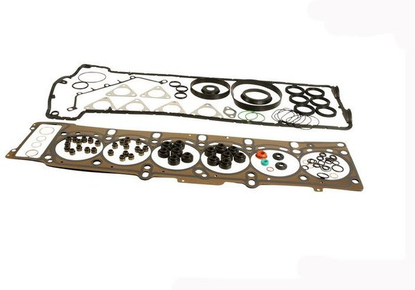 T#3047 - 11127831920 - Victor Reinz Head Gasket Set - E46 M3, MZ3 S54, E85 Z4 M  - This top-end gasket set covers the cylinder head on the S54 engine used in the E46 M3, Z3 M Roadster/M Coupe, and E85/E86 Z4 M Roadster, M Coupe. If you're pulling the head, intake manifold, or doing any other upper end engine work this set can be a time and money saver. This set includes all of the commonly replaced gaskets, seals, and o-rings when overhauling the head. It's also a useful kit to have and dip into any time you're doing upper end engine work. Not having a critical seal or gasket on hand can ruin your work and this gasket set can prevent that from happening. This Victor Reinz set includes the head gasket.BMW #QtyDescription071199035461left timing rail upper bolt seal071199630724VAN0S oil line seal ring071199631292crankcase vent banjo bolt seals071199632522screw plug seal ring071199633421right upper timing rail bolt seal ring071199634181timing chain tensioner seal ring111214373952valve cover stud grommet seal1112783097213valve cover stud grommet seal111278312716spark plug hole profile gasket111278320341main valve cover gasket111278370241oil fill cap seal ring111278370251crankcaske oil separator seal ring111417367581VAN0S-camshaft plate o-ring111578309661crankcase oil separator o-ring, large111578321191crankcase oil separator plug o-ring113113173181inside o-ring for internal VAN0S regulating valve113490644572valve stem seal, 2 sets = 24 valves113678319381VAN0S unit profile gasket114113060821outside o-ring for internal VAN0S regulating valve115313184021thermostat-to-water pump o-ring115378307083coolant pipe o-ring gasket115378307092thermostat housing connector o-ring116114076951intake bellows o-ring profile gasket116178301041intake bellows-to-airbox gasket116278306676exhaust manifold port gasket117275052591air pump valve profile gasket121417483982camshaft position sensor o-ring135478314836throttle body o-ring136414374746fuel injector o-ring, upper136478306116fuel injector o-ring, lower111278359181head gasketThis item fits the following BMWs:2001-2006  E46 BMW M32001-2002  Z3 BMW Z3 M Roadster Z3 M Coupe2006-2008  E85 BMW Z4 M Roadster Z4 M Coupe - Victor Reinz - BMW