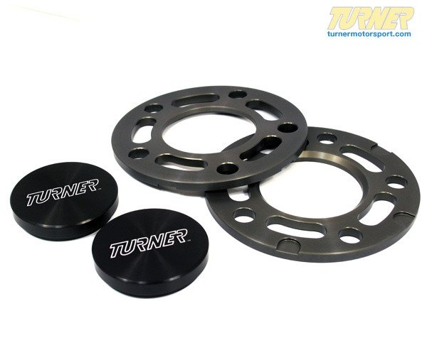 T#340482 - TWH9905003-K - Turner BMW 7.5mm Front Wheel Spacer and Hub Extender Kit - Turner Motorsport - BMW