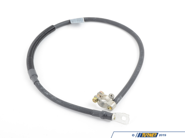 T#39298 - 12421711258 - Genuine BMW Battery Cable (Plus Pole) L=890mm - 12421711258 - E30 - Genuine BMW -