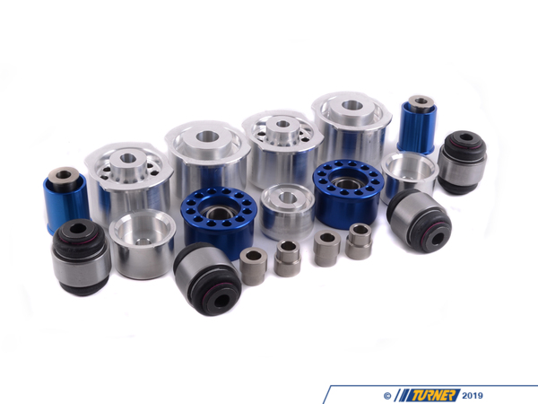 T#11752 - TMS11752 - 3-series Rear Suspension Mount Package - Solid Race Bushings - E36/E36 M3 - Turner Motorsport -