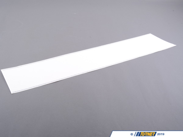 T#81289 - 51147281520 - Genuine MINI Decorative Strips, Right Weiss - 51147281520 - Genuine Mini -