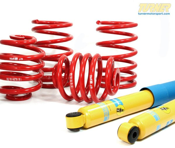 T#5396 - E92-335I-SPSUSP - E92 328i/335i Coupe H&R/Bilstein Sport Suspension Package - Packaged by Turner - BMW