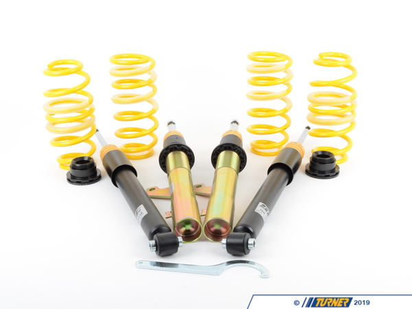 KW Suspension E82 1M KW Coilover Kit - Variant 3 (V3) 35220095