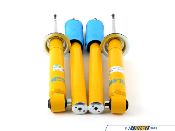 T#3718 - E32MIDSPSET - Bilstein B8 Performance Plus Shock & Strut Set - E32 735i/il 750il 3/88-7/90 - 7-series 5/88-6/90; for Sport/lowered springs without a rear self-leveling system; Set = 2 front + 2 rear. Bilstein Sport Shocks offer a firmer ride quality than standard Heavy Duty (HD) shocks, these are designed for lowered vehicles and sport applications. For the performance minded driver, Sport shocks deliver absolute mastery of the road surface! This item fits the following BMWs:3/1988-6/1990  E32 BMW 735i 735il 750il - Not for cars with Self Leveling Suspension. - Bilstein - BMW