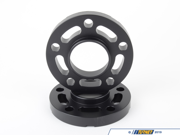 T#304121 - TWH9905020BLACK - BLACK 20MM 5/120 TMS SPACER (PAIR) FITS ALL 5 LUG BMWS EXCEPT E39 - requires longer bolts **SR** - Turner Motorsport -