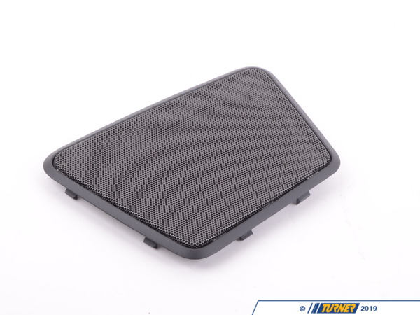 T#109495 - 51467314784 - Genuine BMW Cover F Right Loudspeaker Schwarz - 51467314784 - F30,F80 - Genuine BMW -