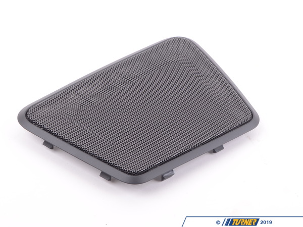 T#109494 - 51467314783 - Genuine BMW Cover F Left Loudspeaker Schwarz - 51467314783 - F30,F80 - Genuine BMW -