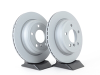 Rear Zimmermann Coated Brake Rotors (300x20) - F3X 320iX/328iX/428iX, F33 428i/428iX SULEV (Pair)