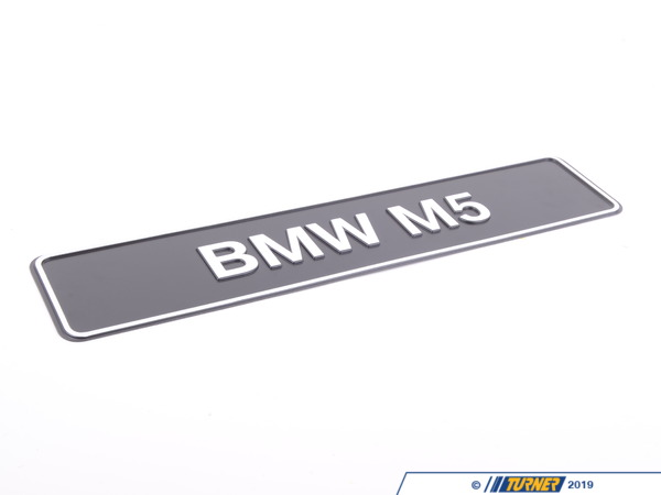 T#167433 - 81850300856 - Genuine BMW Type Identification Plate Bm - 81850300856 - Genuine BMW -