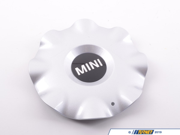 "T#64890 - 36109804231 - Genuine MINI Hub Cap, Silver 18"" - 36109804231 - Genuine MINI -"