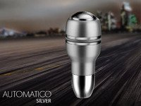 MOMO Automatico Shift Knob - Aluminum/Chrome