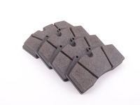StopTech Calipers ST40 ST45 - Race Brake Pad Set - Pagid RS14 Black