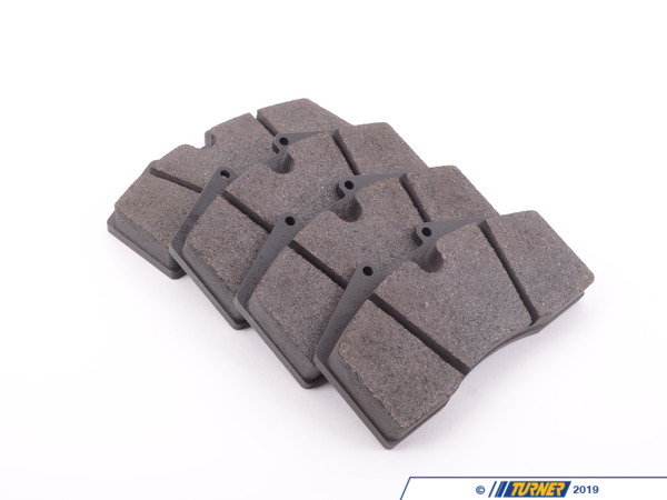 T#1743 - TMS1743 - StopTech Calipers ST40 ST45 - Race Brake Pad Set - Pagid RS14 Black - Pagid - BMW
