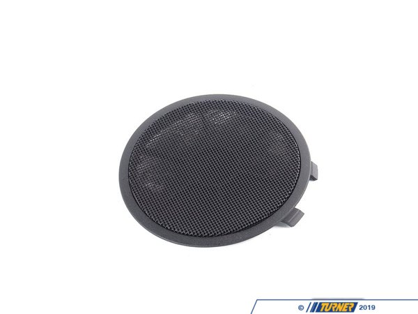 T#102369 - 51432268936 - Genuine BMW Cover F Right Loudspeaker Schwarz - 51432268936 - E36 - Genuine BMW -