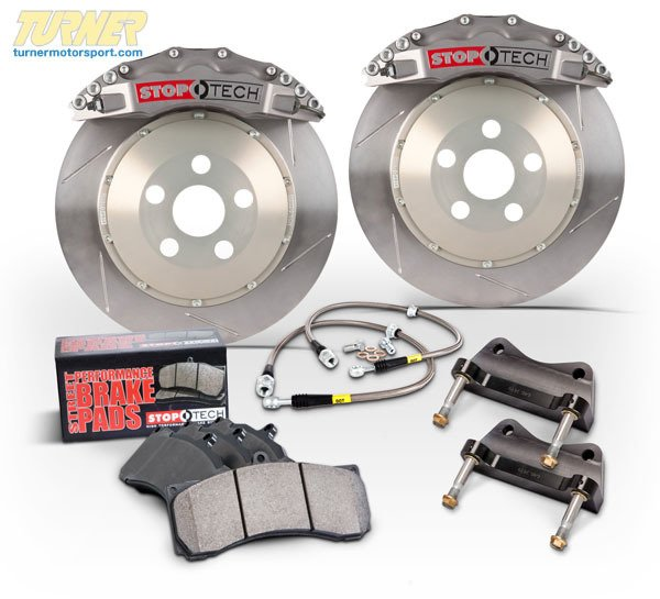 T#16428 - TMS16428 - StopTech Front Sport Trophy Brake Kit (380mm) 6-Piston - E9X M3 - StopTech - BMW