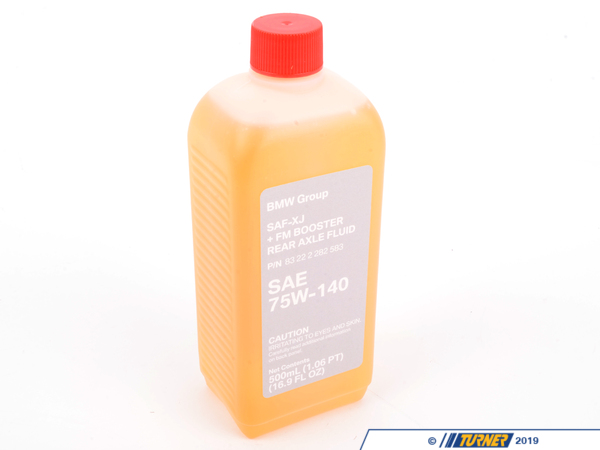 Genuine BMW Genuine BMW Differential Gear Oil SAF-XJ+FM- 500ml bottle - E46 M3, E9X M3, F8X M3/M4 83222282583