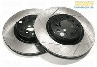 Gas-Slotted Brake Rotors (Pair) - Rear - E82 128i