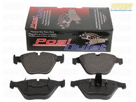 Posi Quiet Brake Pads - Front - E38 750iL, Z8 Alpina Roadster