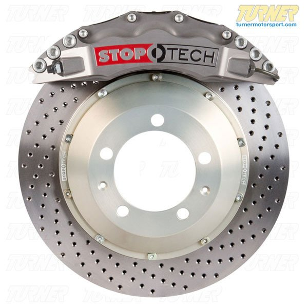 T#25739 - TMS25739 - StopTech Front Sport Trophy Brake Kit (380mm) 6-Piston - E9X M3 - StopTech - BMW