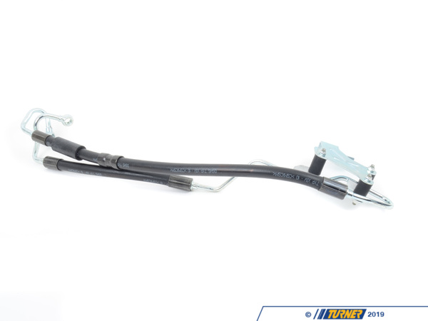 T#58349 - 32416784347 - Power Steering Expansion Hose from Pump to Rack - E9x 325xi 328xi 330xi - Rein - BMW